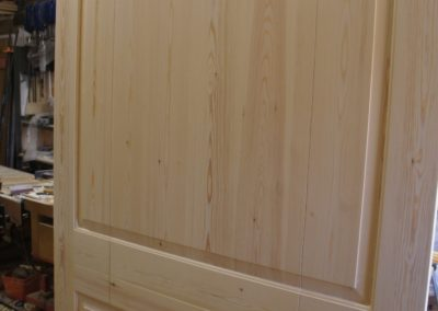 Pine Panelling made for our Wimbledon project . SA Spooner