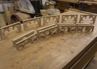 Gothic Tracery to be used in  a Grade 1 listed project. SASPOONER