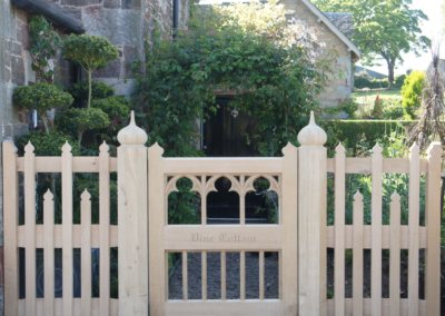 Vine Cottage Gothic Gate