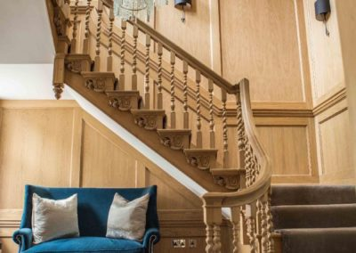The completed Grade 1 Staircase in full glory loveliness. SASPOONER